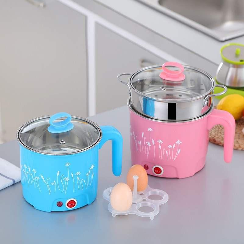 日本购优质迷你小型双层电蒸笼学生电器宿舍电蒸锅热菜蒸蛋早餐玉