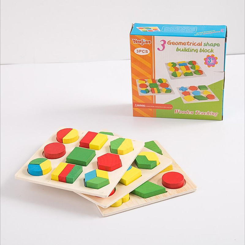 Geometry matching in early childhood education