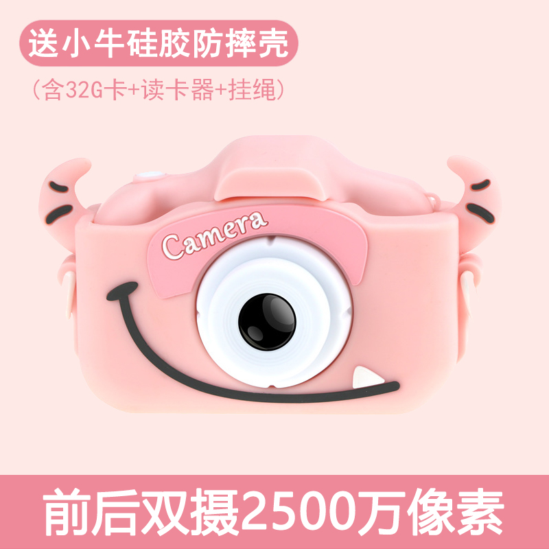 Childrens camera can take pictures baby toys student Mini Digital SLR can print girls birthday gift