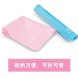 硅胶垫揉面垫擀面揉面垫刻度耐高温垫不沾防滑垫 月杂货特大号日