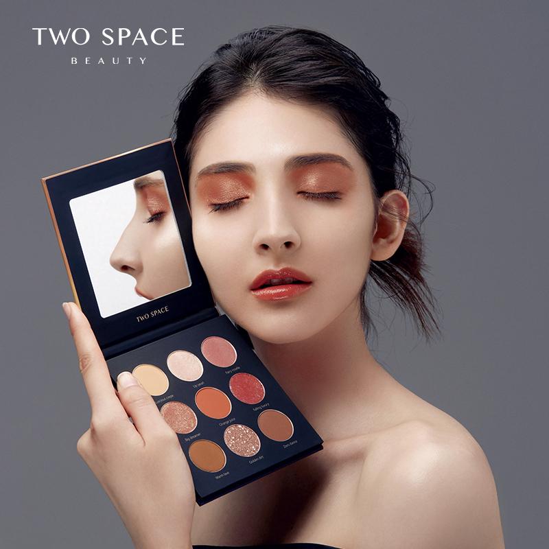 twospace二度空间时光收藏家眼影盘满50元可用50元优惠券