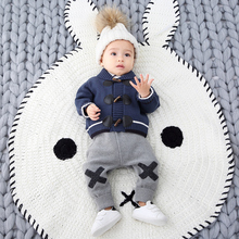 Infant knitted pants for spring and autumn wear autumn trousers with all kinds of fashion, sweater pants for infants and young children and underpants