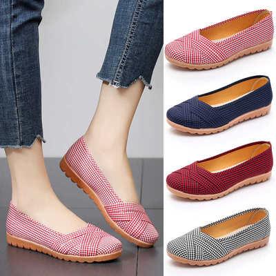 新款老北京女妈妈鞋中老年防滑布鞋