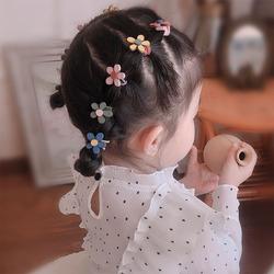 韩国儿童头绳不伤发宝宝扎头发圈小童橡皮筋女童头花可爱小花头饰