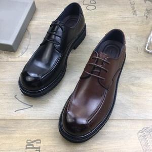 清仓断码娜 百丽男鞋真皮商务正装系带男皮鞋牛皮大头鞋英伦潮鞋