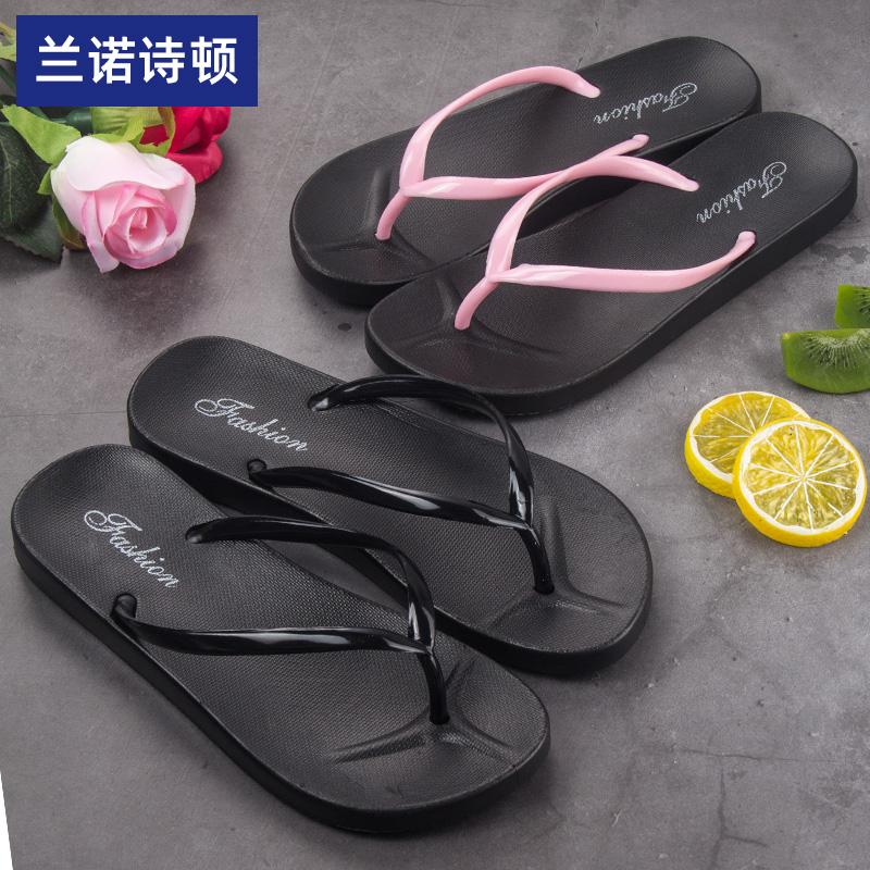 人字拖女夏拖鞋室外防滑情侣女士外穿沙滩鞋夏季夹脚潮流凉拖大码