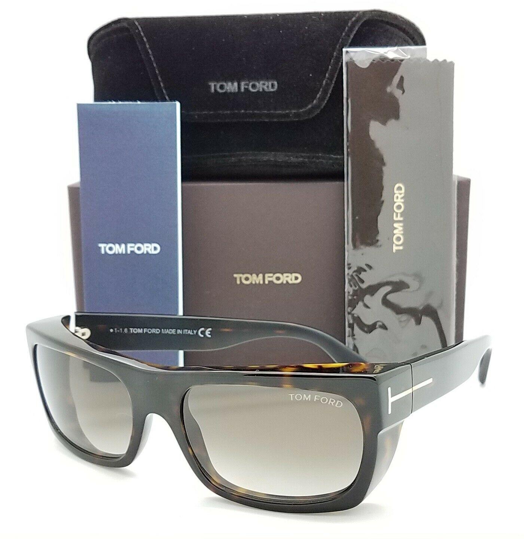 Tom Ford汤姆福特玳瑁色棕色渐变太阳眼镜Toby TF0440/S 52K