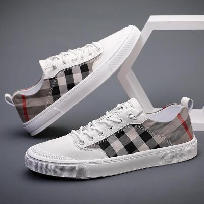 帆布鞋男秋季男鞋新款男式休闲鞋透气冰丝布鞋运动鞋韩版潮男板鞋