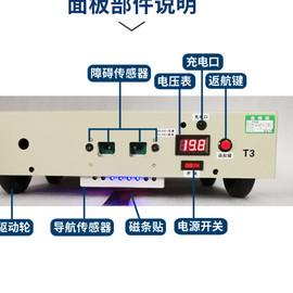 30公斤AB两点双向直线来回走AGV小车 无人搬运车 物流配送运输车图片