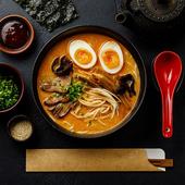 日式特色风味,素手时然鬼壹口豚骨汤拉面5人份