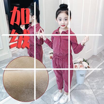 女童套装春季2020新款韩版时髦儿童