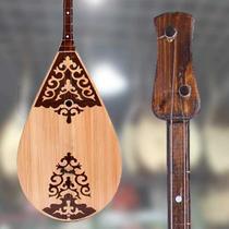 高档正品新疆少数民族哈萨克乐器Samoa萨摩亚琴专业高档红木演奏
