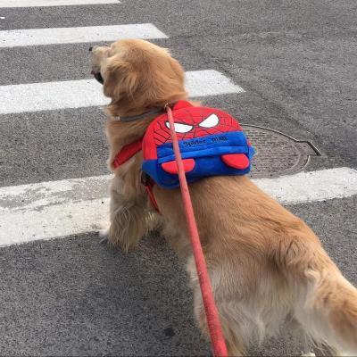Medium sized dog backpack for going out large dog backpack small schoolbag golden Labrador Backpack
