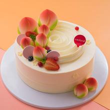 味多美 天然奶油生日蛋糕 送老人寿星 祝寿蛋糕 同城 福寿绵长