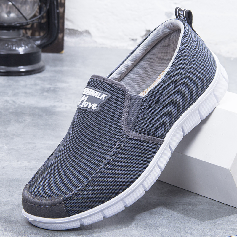 Cloth casual shoes middle-aged shoes canvas shoes dad shoes mens shoes dad casual shoes mens shoes grandpa wear