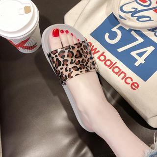 时尚拖鞋女夏家用洗澡防滑室内卡通平底薄底新款家居冲凉2019舒适