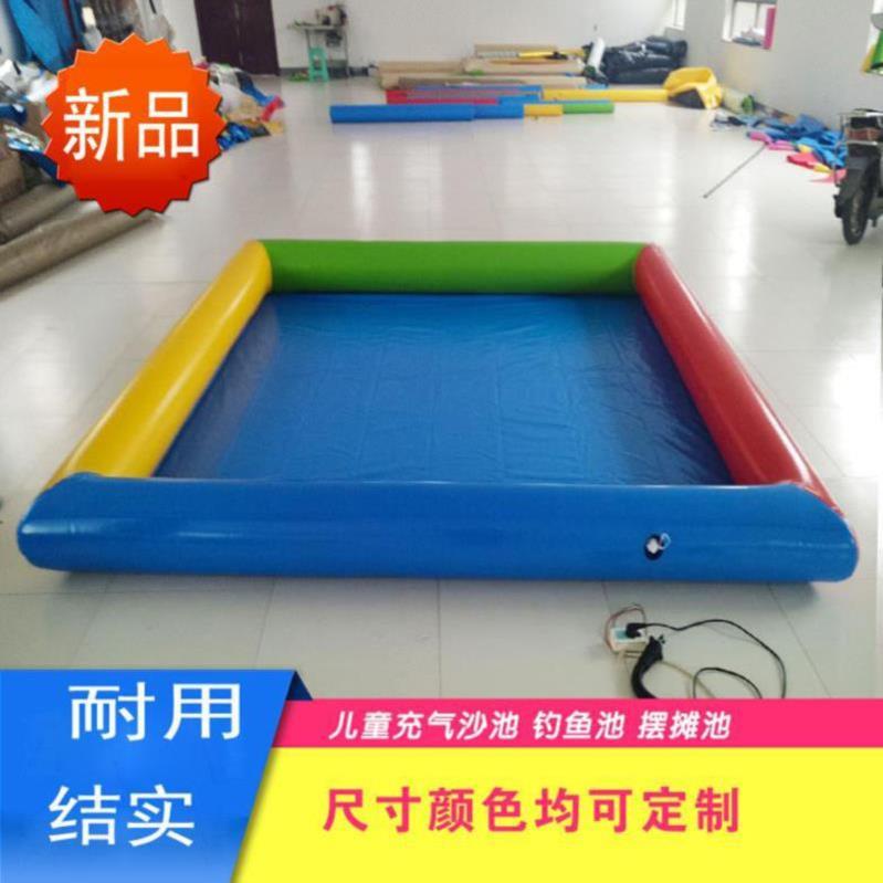 充气式下水管宝宝游泳池家用婴儿水线折叠旅行孩子用品玩沙池迷你(非品牌)