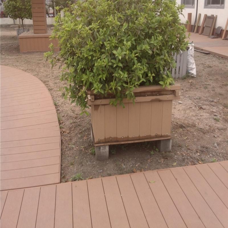 建材防腐木板户外露台塑木板7阳台板户外木板实木板基础
