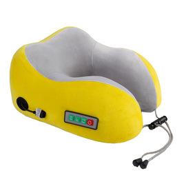 多功能U型按摩枕智能电动脖子颈椎按摩器记忆棉车载护颈仪