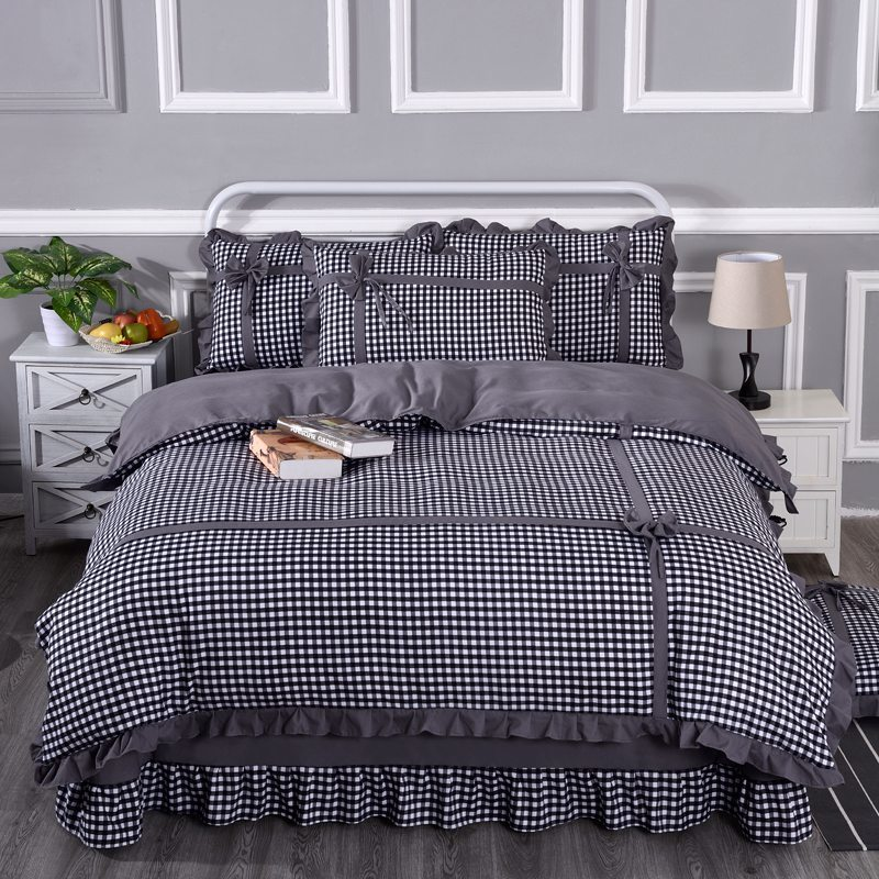 [normal delivery] 4-piece bed skirt quilt cover, 2-piece multi Piece Bedding Set