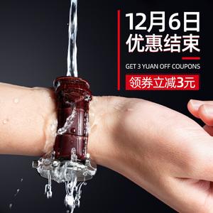 pstary真皮表带男牛皮手表带女代用表链卡西欧天梭浪琴dw天王美度