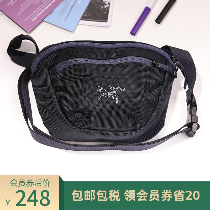 Arcteryx始祖鸟多功能户外登山斜挎包便捷耐磨腰包男女通用Maka 1