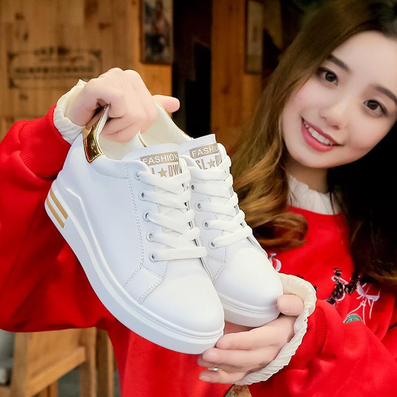 券后106.00元乔迪尔大东官方旗舰店内增高小白鞋