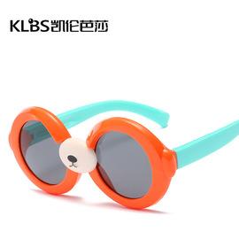 儿童偏光镜3433可爱小熊太阳眼镜户外个性偏光太阳眼镜W43图片