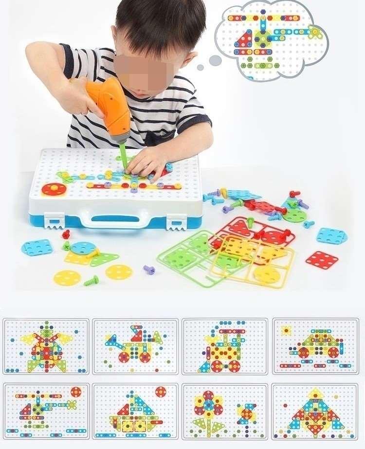 工具箱玩具车发现组装配对儿童动手拆装拧螺丝益智玩具礼物塑料,可领取元淘宝优惠券