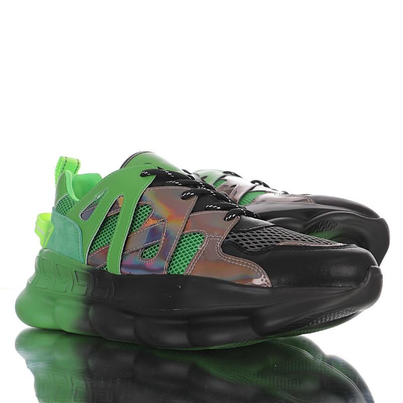 春夏低帮松糕老爹轻量网面复古休闲运动慢跑鞋网眼小牛皮乳胶鞋垫