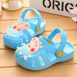 夏季女宝宝男宝女宝1凉拖鞋婴儿2岁3婴童4男5婴幼儿0幼童防滑公主图片
