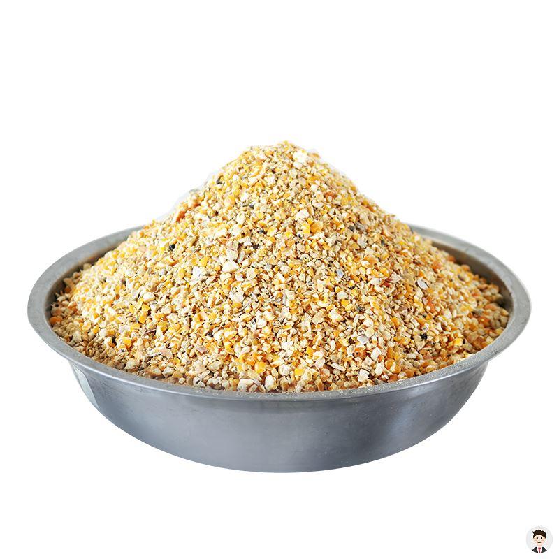 下蛋鸡用钓鱼打窝大鸡养殖用家用玉米碎粒喂鸡鹌鹑鸭鹅-鸡饲料(载载家居专营店仅售32.24元)