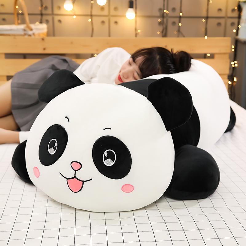 熊猫毛绒玩具狗熊公仔趴趴熊玩偶睡觉抱枕布娃娃抱抱熊女生礼物