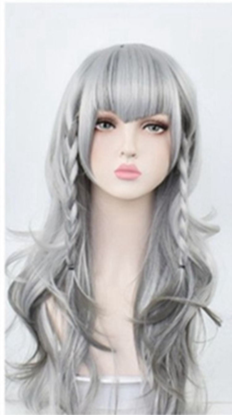 Two dimensional Lolita cos wig girl Lolita tomorrow ark snow girl long hair temperament Lovely Japanese