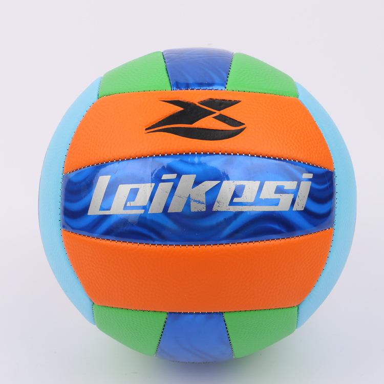5号排球 机缝PVC软式中小学生充气中考标准排球A39