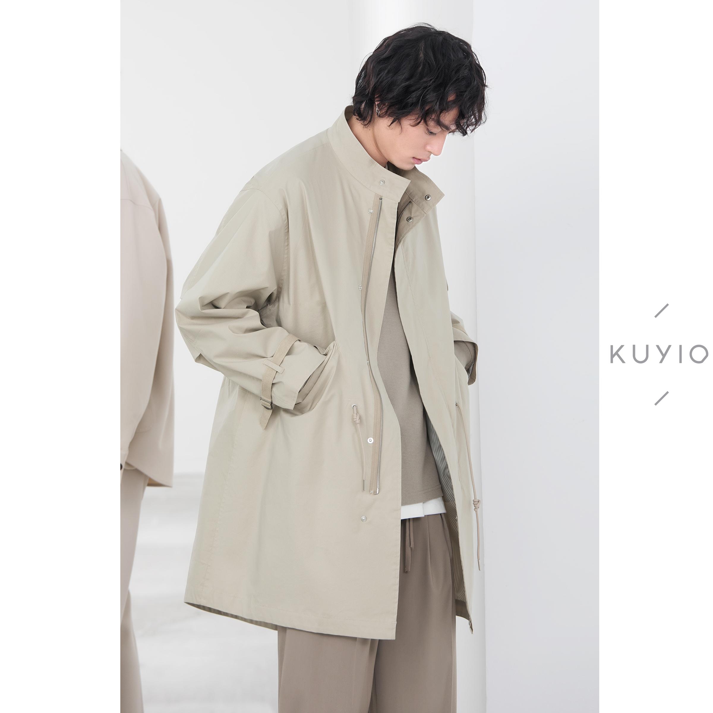 kuyiou早春/ n3b工装日系轻薄风衣好用吗