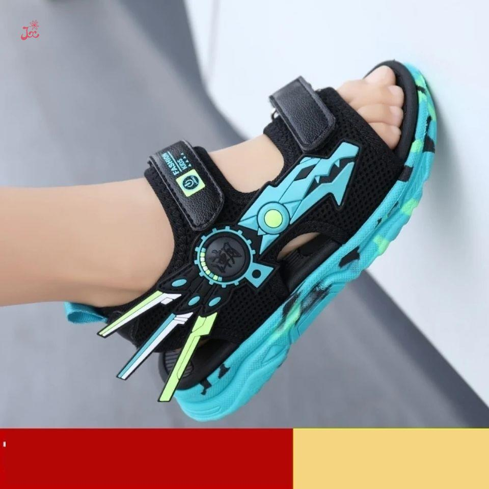 14-year-old boys sandals little boys wear low top mesh shoes summer childrens lightweight board shoes and mesh shoes