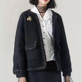 欧阿玛施旗舰店官网正品女装短外套