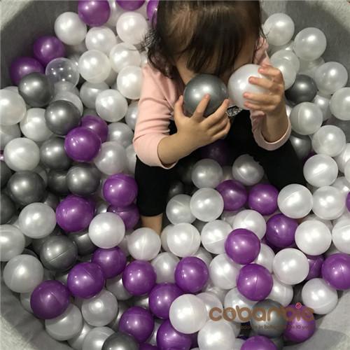 儿童玩具球游乐场波波安全优质海洋球室内婴球宝宝围栏海洋球池