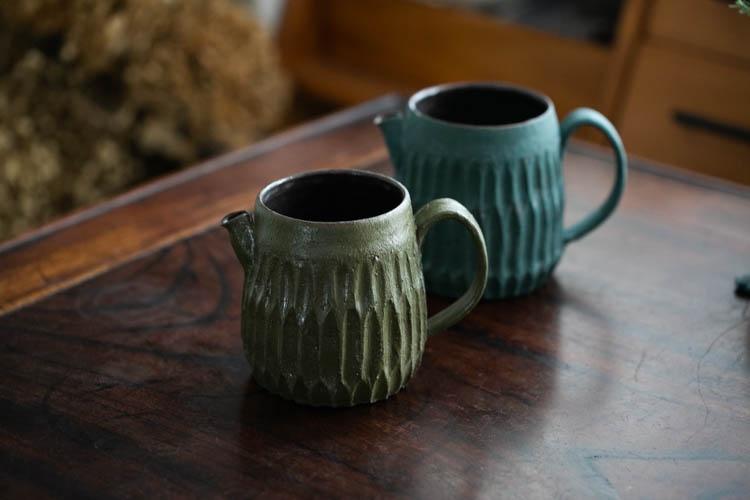 新Z款化妆土咖啡分享壶 水壶 匀杯 手作器皿 | 思茶饭香