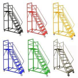 活动梯形商场仓储台阶梯多层架超市仓库货梯室内工厂简易移动架楼图片