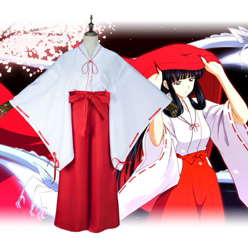 Inuyasha, Platycodon grandiflorum, cos, voodoo, cosplay, second dimension animation, ancient fashion, Japanese womens clothing