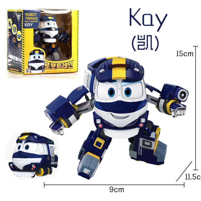 。2019动感火车家族玩具维克多机器人凯奥尔夫火车侠装甲款礼