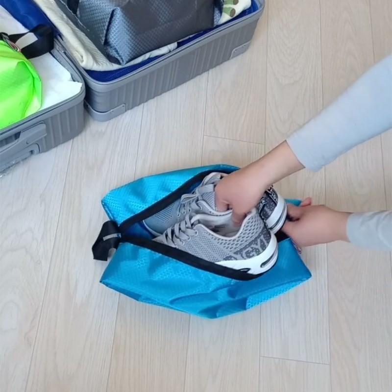 靴子球鞋拖鞋鞋子收纳袋子神袋防水鞋袋家用防尘鞋罩套装鞋袋旅行