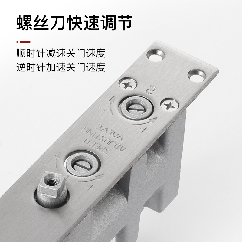 Anti moving device jiaanmen anti static impact hidden sound Shenyin slow door spring closed type loader liquid uses closed self spring fire pressure.