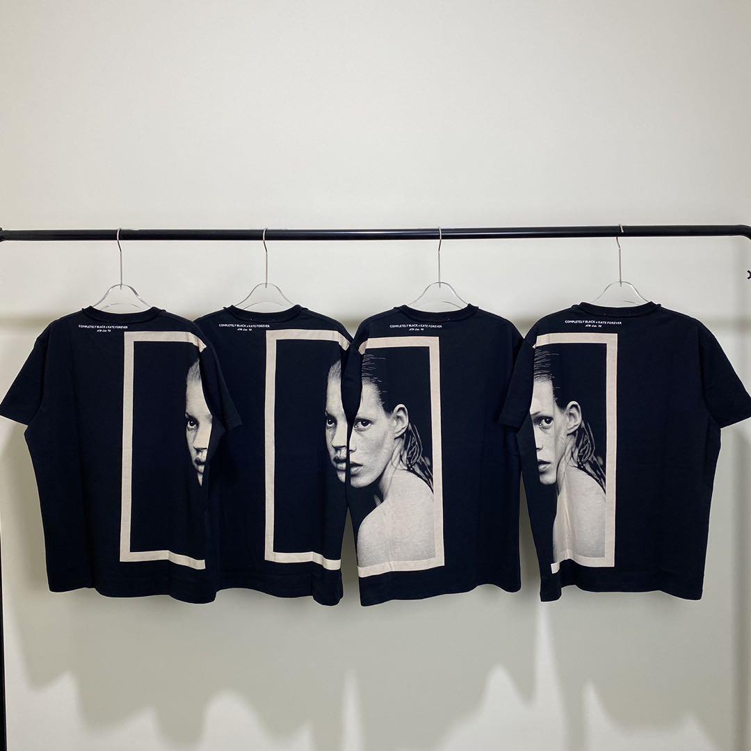 暗黑情侣出街款 Mr.Completely x Kate Forever高街OS廓形短袖T恤
