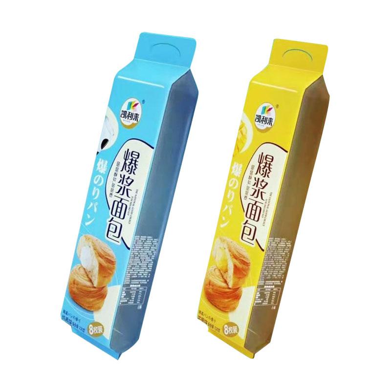 热卖 夹心面包早餐面包蛋糕零食营养早餐奶香面包320克整箱西