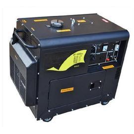 柴油发电机家用220v小型静音油箱单相智能手启动损耗低柴油机拖车图片