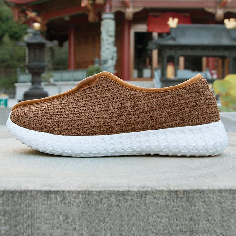 僧鞋男女款春秋潮流和尚鞋秋季时尚款软底禅鞋透气厚底禅修鞋