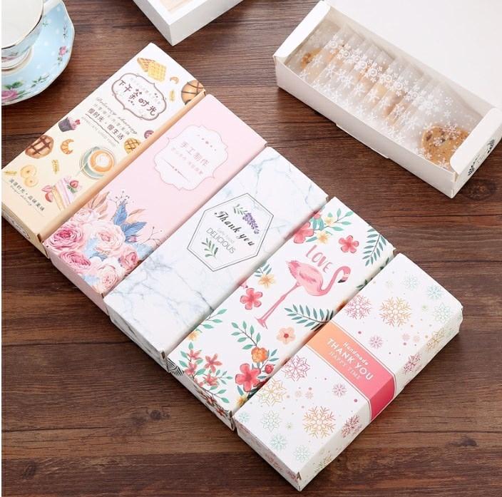 牛轧糖包装袋雪花酥饼干曲奇袋可装500g左右可爱一斤装包装盒,可领取1元天猫优惠券